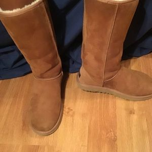 Tall, Chestnut Ugg boots!